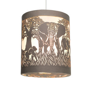 In The Jungle Lantern - lampshades