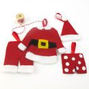 Make Your Own Santa Clothes Decoration Kit