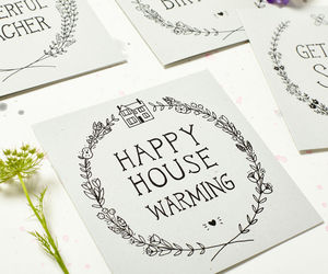 'Happy House Warming' Card - new home cards