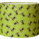 Housefly Insect Green Handmade Lampshade