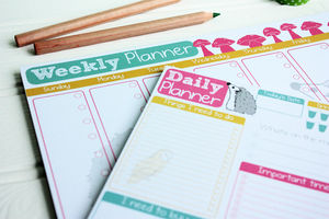 Weekly And Daily To Do List Notepads