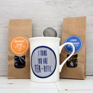 'You Are Tea Riffic' Gift Set For Happy Occasions - food & drink gifts