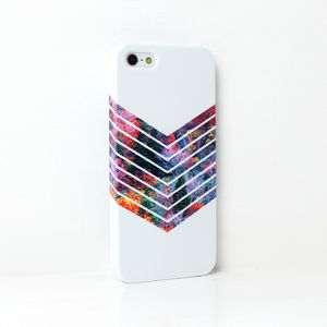 Colourful Tree Geometric Phone Case - bags & purses