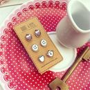 The Tea Time Earring Collection