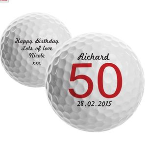 Personalised Big Birthday Golf Ball - toys & games