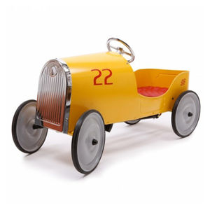 Goldini Yellow Pedal Car