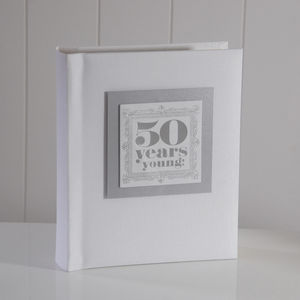 '50 Years Young' Photo Album