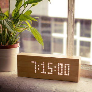 Click Message Clock - office & study