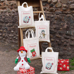 Personalised Children's Christmas Bag - stockings & sacks