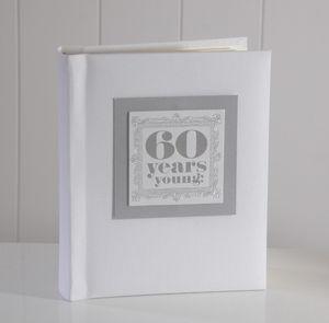 '60 Years Young' Photo Album