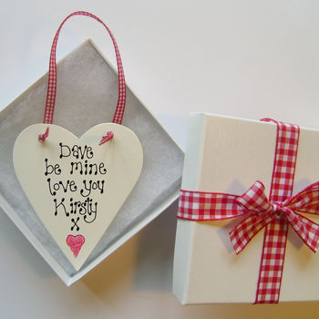Personalised Valentine Love Token