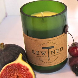 Pinot Noir Wine Scented Candle - candles & candlesticks