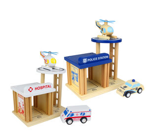 Wooden Emergency Playset - traditional toys & games