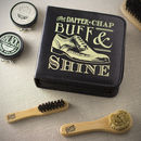 Dapper Chap Mens Shoe Shine Kit