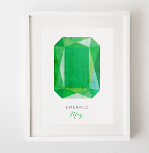 Your Birthstone Print - posters & prints