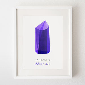 Your Birthstone Print - birthday gifts