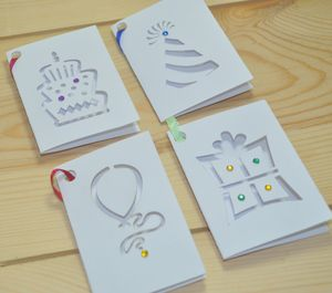 Laser Cut Gift Tags Pack Of Eight