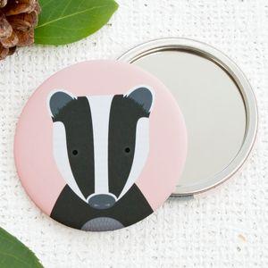 Badger Pocket Mirror Or Magnet