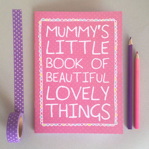 Mum's Little Notebook - summer sale