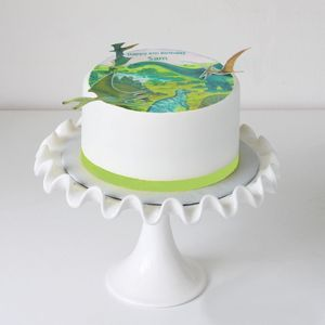 Personalised Dinosaur Cake Topper And Decorations - food & drink