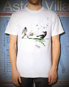 Shin Of Europe : Aston Villa T Shirt - men's fashion
