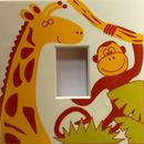 Jungle Animals Light Switch Cover