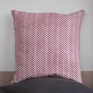 Indore Soft Herringbone Cushion Cover - cushions
