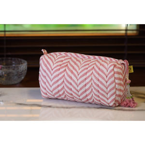 Indore Soft Print Make Up - make-up bags