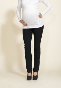 Maternity Stretch Jersey Trousers - maternity