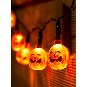 Halloween Pumpkin String LED Fairy Lights - baby & child
