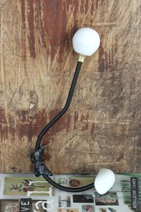 White Ceramic Coat Hook