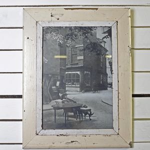 Reclaimed Wood Frame A3 - picture frames