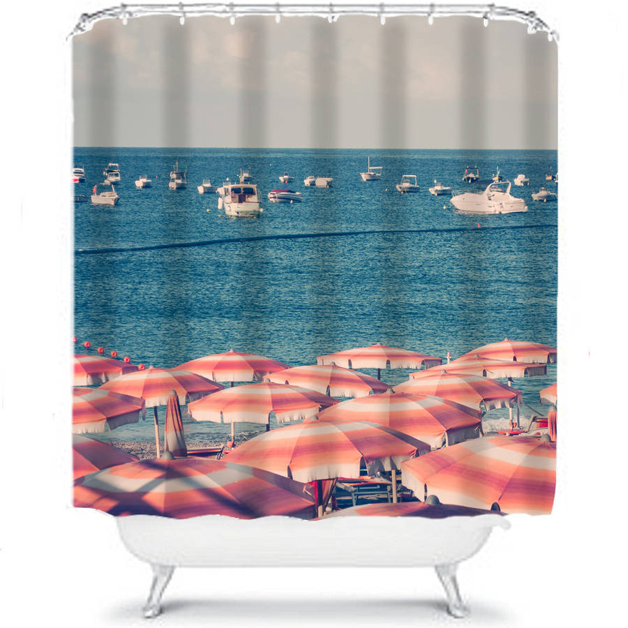 Beach Shower Curtain By Ruby And B