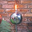 Stainless Steel Globe Garden Oil Torch