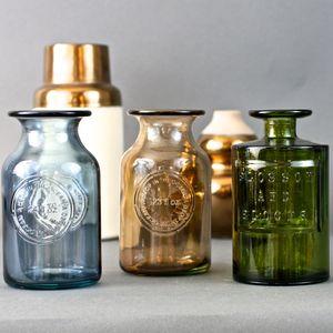 Vintage Bottle Vase - pots