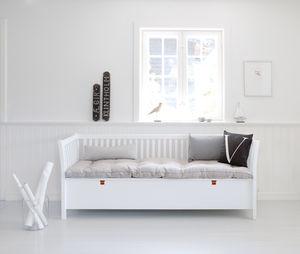 Scandinavian Bench Seat In White Or Black