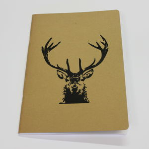 A4 Stags Head Notebook
