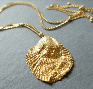 Golden 'Shell' Necklace