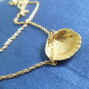 'Seashell' Golden Necklace