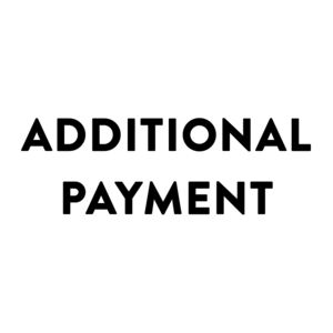 Additional Payment - baby changing