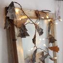 Natural Tree Bark Battery Light Chain