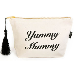 Yummy Mummy Make Up Bag - gifts for new mums