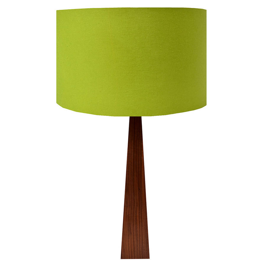 lime green table lamp by hunkydory home. Black Bedroom Furniture Sets. Home Design Ideas