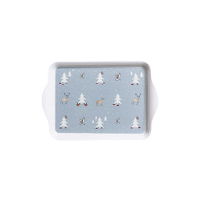 Winter Woodland Mini Melamine Tray - view all decorations