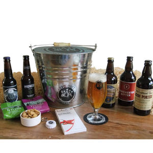 Five Bottle Beer Bouquet - gifts under £50 for him