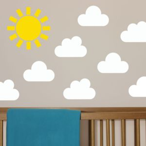 Children's Weather Wall Sticker