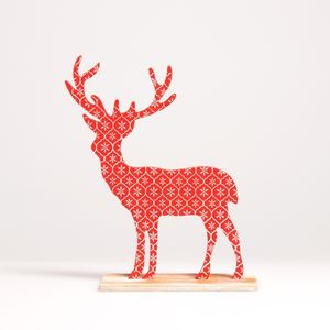 Wooden Christmas Stag