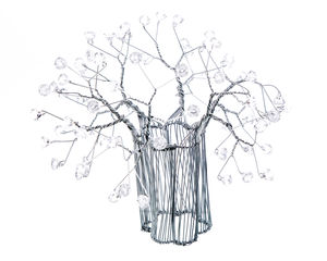 Wire Crystal Baobab Tree