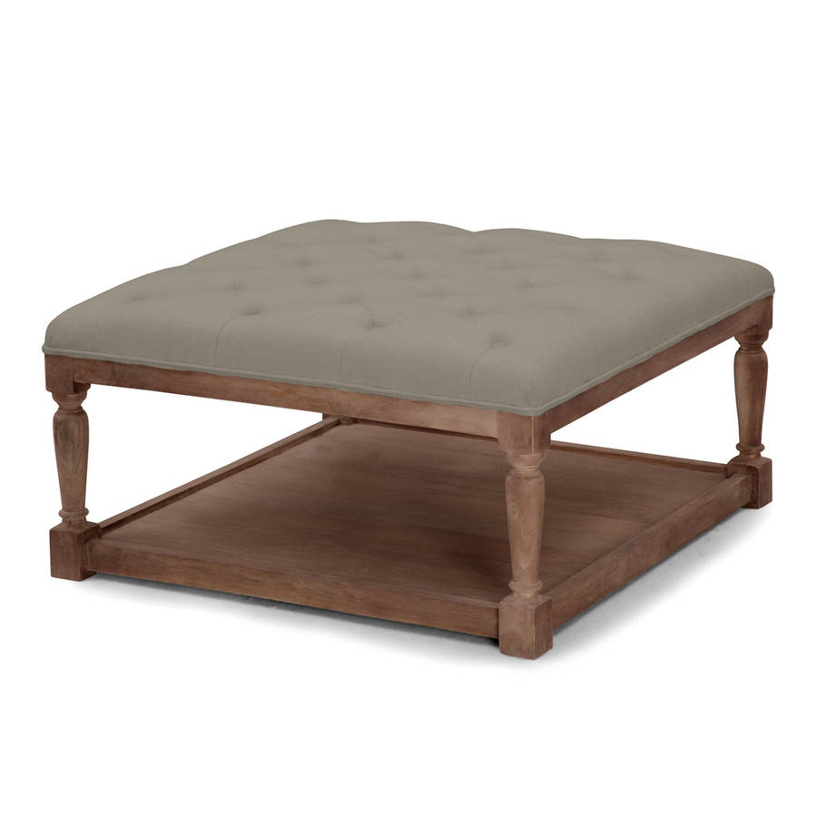 Morton upholstered coffee table by within home Bench coffee tables
