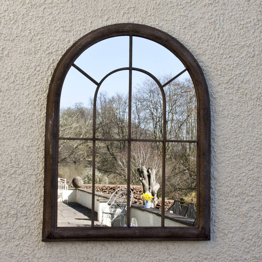 Classic Window Mirror By Decorative Mirrors Online